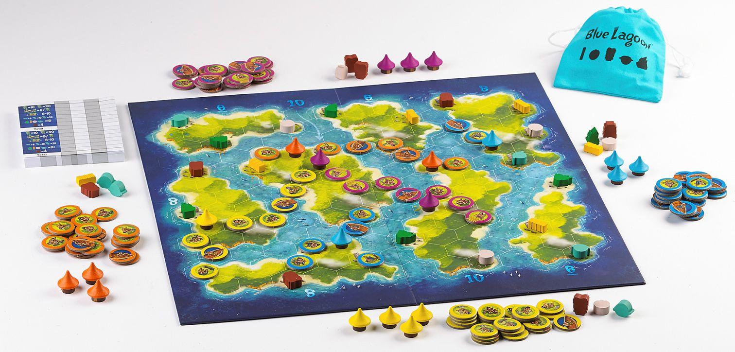 Gra planszowa Blue Lagoon 3